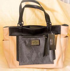 Nicole By Nicole Miller  Designer Poppy Tote Bag purse handbag #NicoleMiller #TotesShoppers