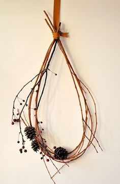 twig wreath. by kutbock