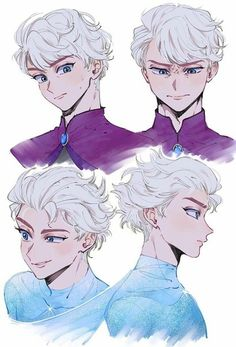Discover recipes, home ideas, style inspiration and other ideas to try. Anime Disney Princess, Disney Kunst, Disney Fan Art, Disney Frozen, Gender Bent Disney, Disney Gender Swap, Disney Gender Bender, Cartoon As Anime, Art Anime