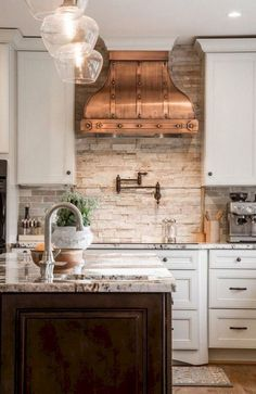 French Country Style Kitchen Decorating Ideas (9)