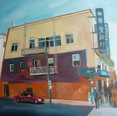 Carmen Stanescu - Google+ Oil On Canvas, Las Vegas, Paintings, Signs, Google, Painted Canvas, Last Vegas, Novelty Signs, Painting