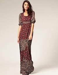 Resultado de imagen de moda de los 70 vestidos