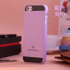 iPhone 5S Candy Shell, Metal brushed case $14.34