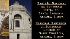 Portugal's National Pantheon, Panteão Nacional in Alfama, Lisboa, Portugal