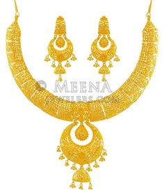 Gold Necklaces online for women, explore styles, find the necklace for you. Bridal Necklace, Necklace Set, Gold Necklace, Jewellery Design Images, Jewelry Design, Gold Earrings, Gold Jewelry, Jewelery, Gold Designs