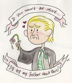 draco has a rough valentines day.