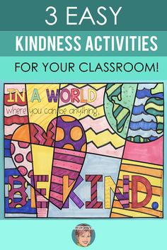 3 Easy Kindness Activities for Your Classroom! # kindness activities for kids 3 Kindness Activities for Your Classroom! Kindness Projects, Kindness Activities, Activities For Kids, Movement Activities, Elementary School Counselor, School Counseling, Elementary Schools, Counselor Office, Nurse Office