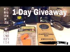 1 Day Survival Gear Giveaway - 24 Hours Only