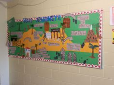 islam bulletin board ideas   Art : Sr. Madlien came to our class to coach us on creating water ...