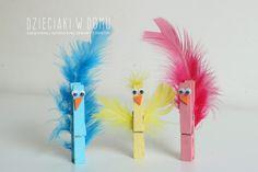 ptaszki - praca techniczna dla dzieci