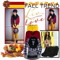 """Fall Trend"" by chareznasheer on Polyvore"