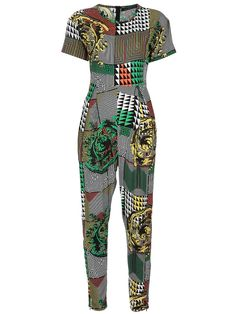 Multicoloured printed jumpsuit from Horace