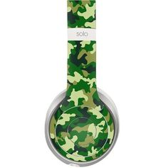 Army design decal for Monster Beats Solo 2 wireless headphones - Decal Design