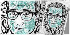 """Martin Scorsese"" t-shirt design by Timurzi"