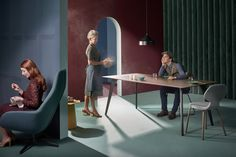 PODE Furniture Campaign image. Art Direction: Studio Roderick Vos. Claire Vos & Roderick Vos. Photography: Arjan Benning.
