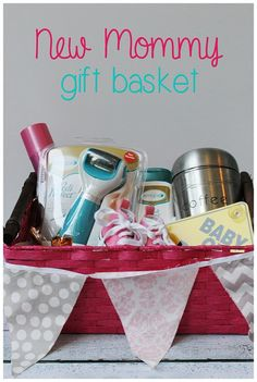 Ultimate New Mom Gift Basket DIY | Gift, Babies and Mom gifts