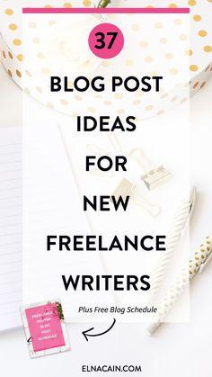 37 Blog Post Ideas f