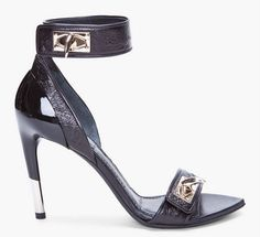 givenchy charlinette heels in black