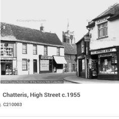Chatteris high st c 1955 St Ives, Peterborough, Past, Saints, Street View, Santos, Past Tense