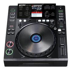 Performance Gemini CDJ DJ CD MP3 USB SD Card Professional Table Top Media Player #Gemini