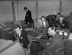 The Heathrow Air Traffic Control Tower, 1955