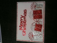Xmas card using memory box dies