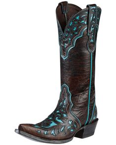 This is my new Cowboy boot James got me for my birthday last month! Got a great deal on them @ BootBarn