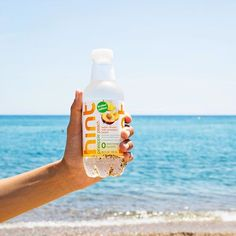 Sandy or not, here we come! Summer Activities, Summer Vibes, Pineapple, Water Bottle, Peach, Ocean, Photo And Video, Drinks, Tips