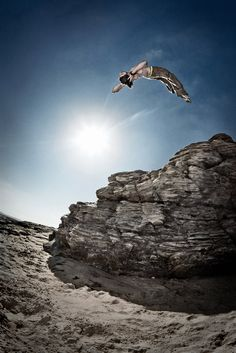 "If you haven't yet, check out ""parkour"" on youtube. Some of those guys can do some pretty spectacular stuff"
