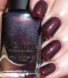 ILNP Overnight Bag Brun espresso holo Fall 2015 Collection Swatches Have A Good Weekend, Nail Polish Collection, China Glaze, Manicure And Pedicure, Fall 2015, Beauty Nails, Fun Nails, Swatch, Finger