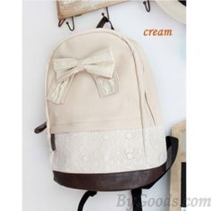 Cute Lace Floral Sweet Bow Shoulder Bag|Fashion Backpacks - Fashion Bags|ByGoods.com