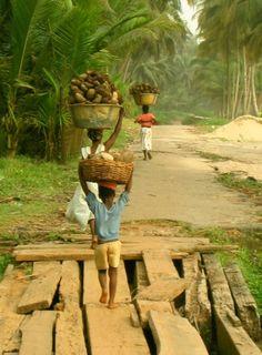 Slice of life in Axim, Ghana