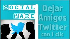 Dejar de seguir cuentas Twitter 1era parte   Trucos 2017   SocialWare