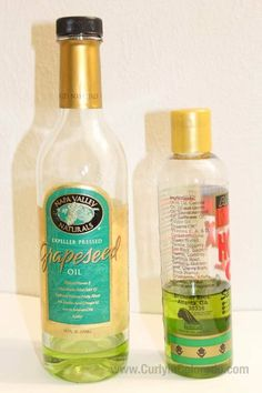 www.curlyincolorado.com grapeseed oil for natural hair