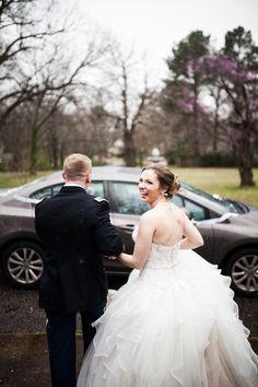 #sendoff James and Amanda's #memphis wedding. Photo // Evan David Photography