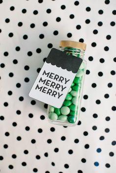 DIY: Printable Holiday Gift Tags