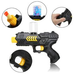 Paintball Gun Pistol & Soft Bullet Gun Plastic Toys CS Game Shooting Water Crystal Gun Air Soft Gun Airgun Summer Kid's toy