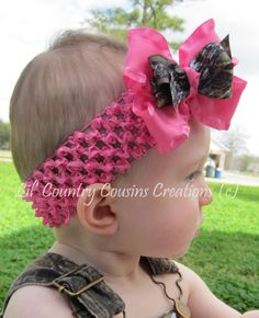 Mossy+Oak+BreakUp+Camo+and+Hot+Pink+Ruffled+by+LilCountryCousins,+$5.95