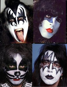 Kiss Rock Bands, Rock And Roll Bands, Kiss Images, Kiss Pictures, Satan, Eric Singer, Rock Band Photos, Vintage Kiss, Kiss Art