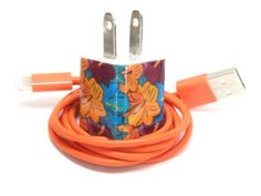 Hawaiian Garden Design iPhone Charger by PersonalPower on Etsy, $19.00