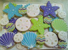 beach cookies inspired by @SweetSugarBelle {Callye Alvarado}