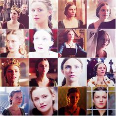 "Queen Anne Neville from ""The White Queen"" portrayed by Faye Marsay"