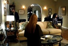 Olivia Pope's apartment on Scandal-living room 4