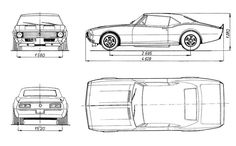 Mustang ford 65 blueprint google search proyecto pinterest chevrolet impala 69 blueprint malvernweather Gallery