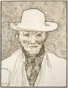 Vincent van Gogh, Peasant of the Camargue, 1888   Harvard Art Museums/ Fogg Museum