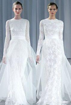 100 Gorgeous Winter Wedding Dresses You'll Love | HappyWedd.com
