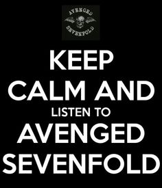 Avenged Sevenfold- Yep! especially on test day!