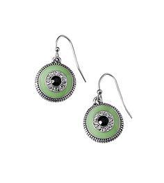 Botanica #mint #liasophia #Earrings #green www.liasophia.com/dazzlingdianne Summer 2014, Spring Summer, Mint Jewelry, Lia Sophia, Spring Green, Crochet Earrings, January, Resin, Enamel