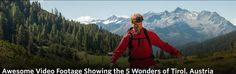 InAustria - Awesome Video Footage Showing the 5 Wonders of Tirol, Austria