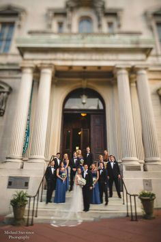 Wedding Venue Review: The George Peabody Library